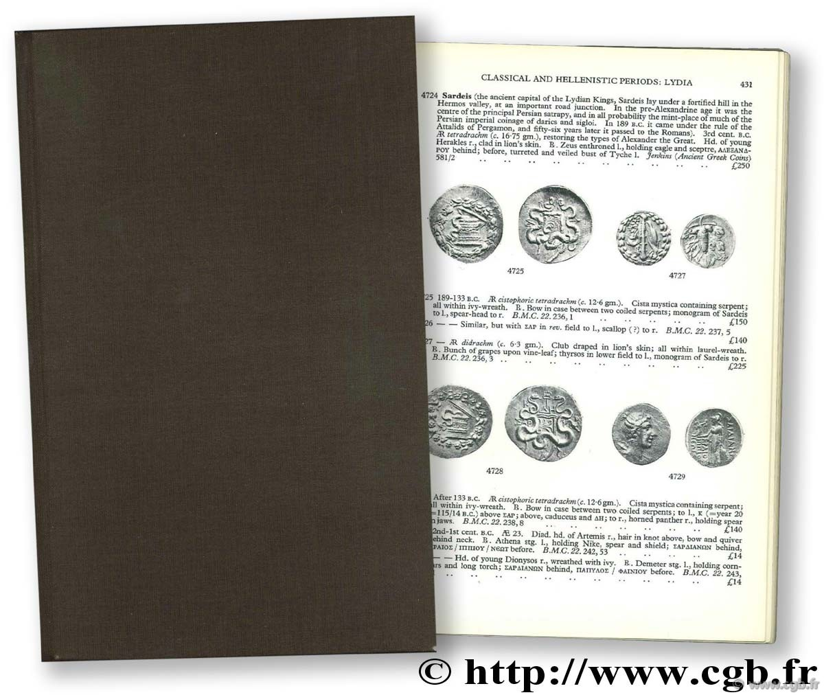 Greek coins and their values II : Asia and Africa SEAR D.-R.