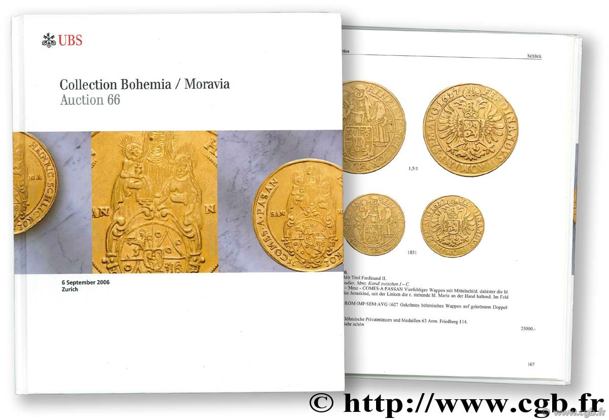 Collection Bohemia/ Moravia, auction 66, 6 septembre 2006