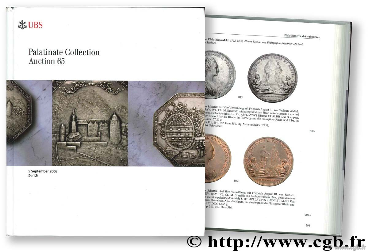 Palatinate Collection, auction 65, 5 septembre 2006
