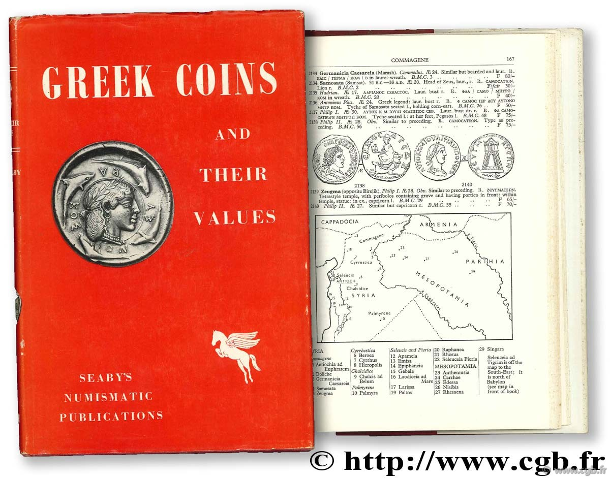 Greek Coins and their values SEABY H.-A.
