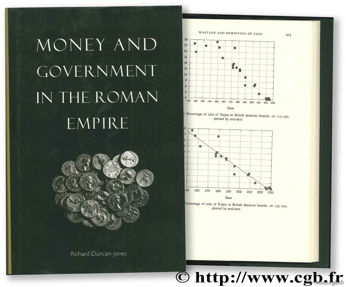 Money and Government in the Roman Empire DUNCAN JONES R.