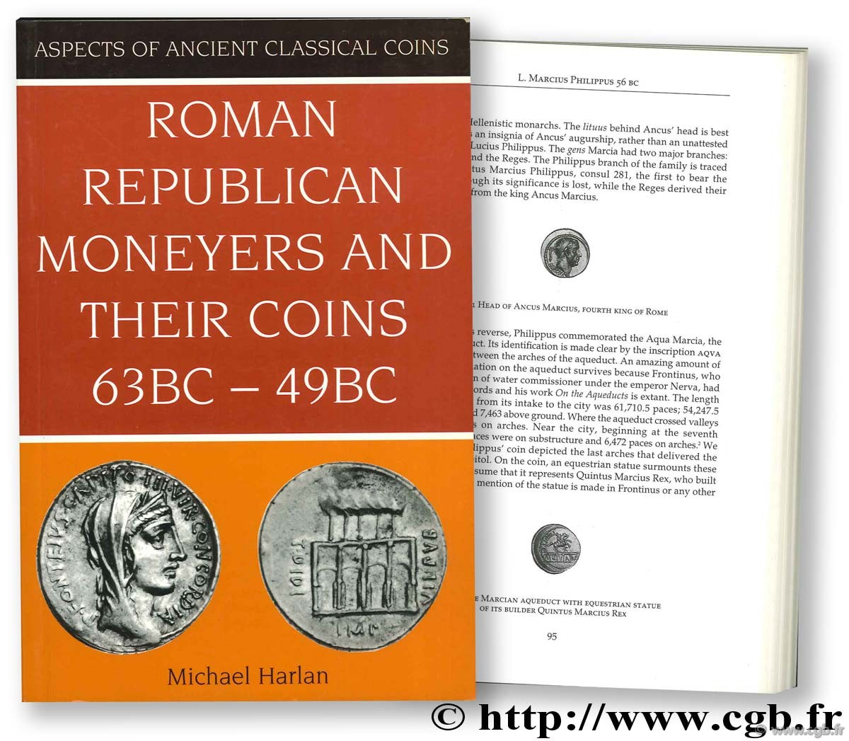 Roman Republican Moneyers and their Coins (63 BC - 49 BC) HARLAN M.