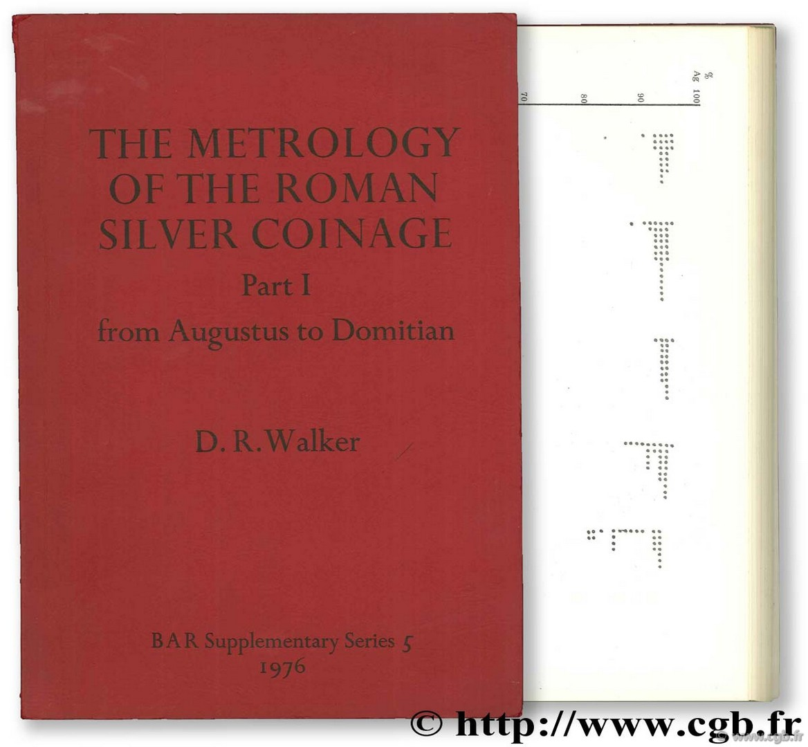 The Metrology of the Roman Silver Coinage WALKER D.-R.