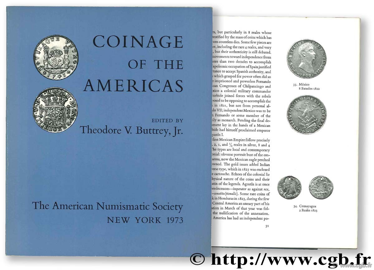 coinage of the americas BUTTREY T.