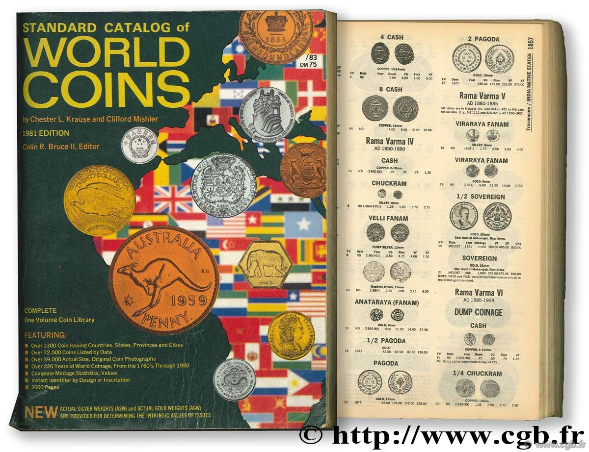 Standard catalog of world coins 1981 KRAUSE C.-L., MISHLER C.