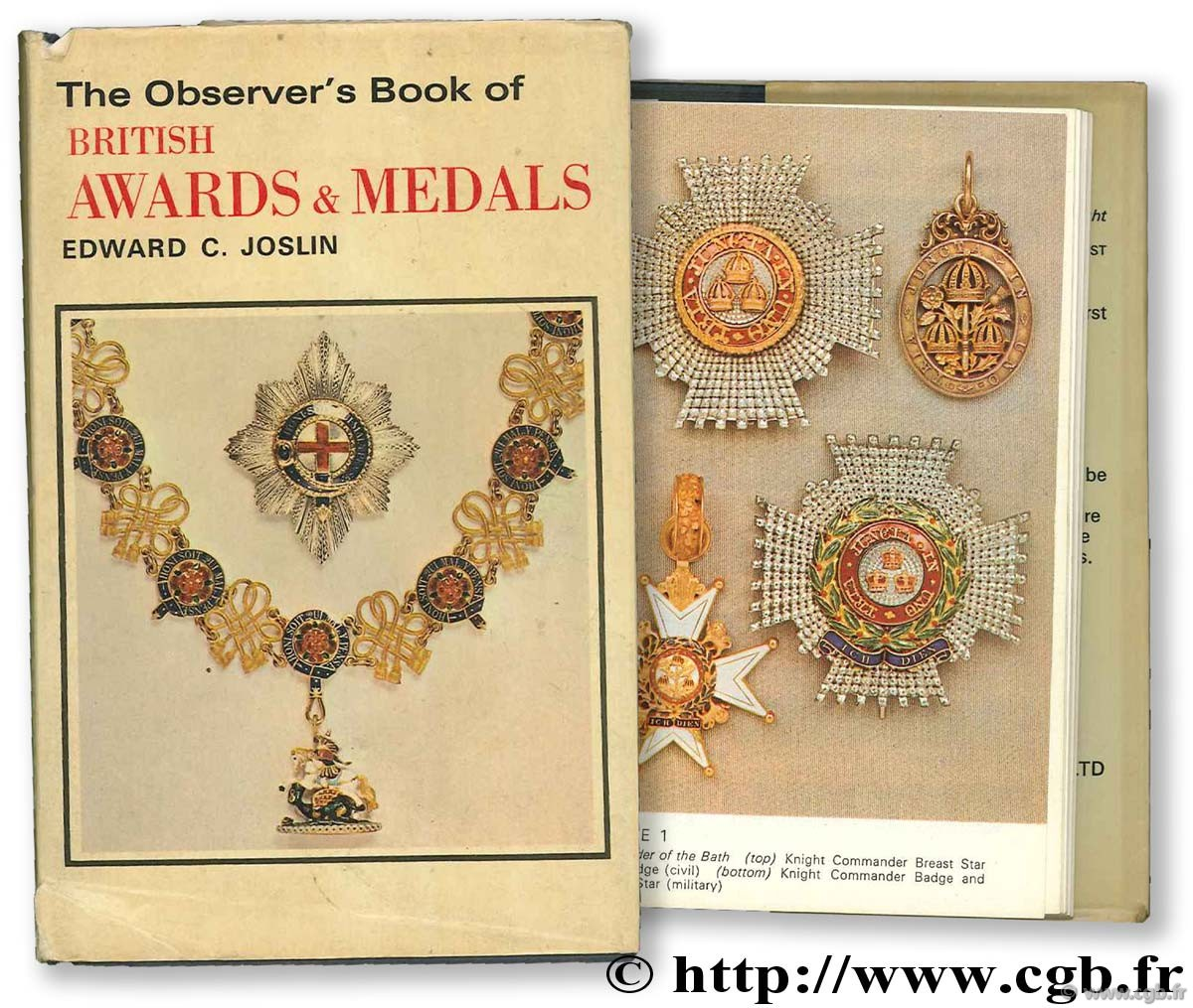 The observer s book of british awards & medals JOSLIN E.
