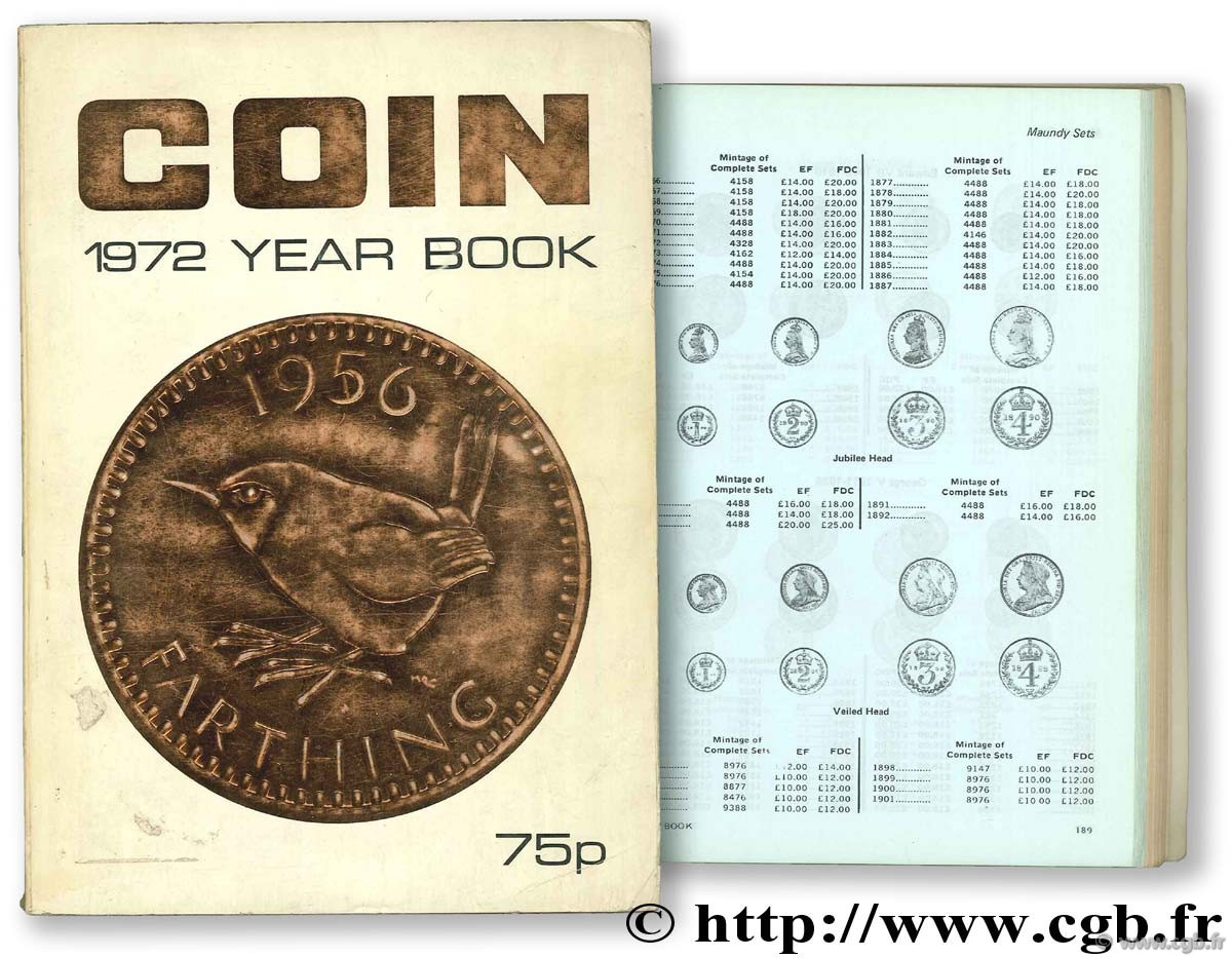 Coin 1972 Year Book COIN MONTHLY Magazine