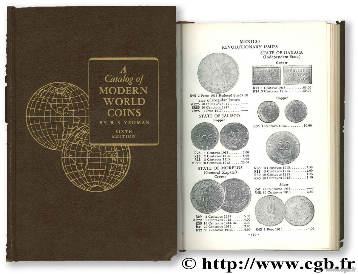 A catalog of modern world coins 1850 - 1964  YEOMAN R.-S.