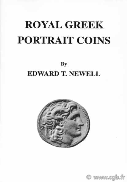 Royal greek portrait coins NEWELL Edward T.