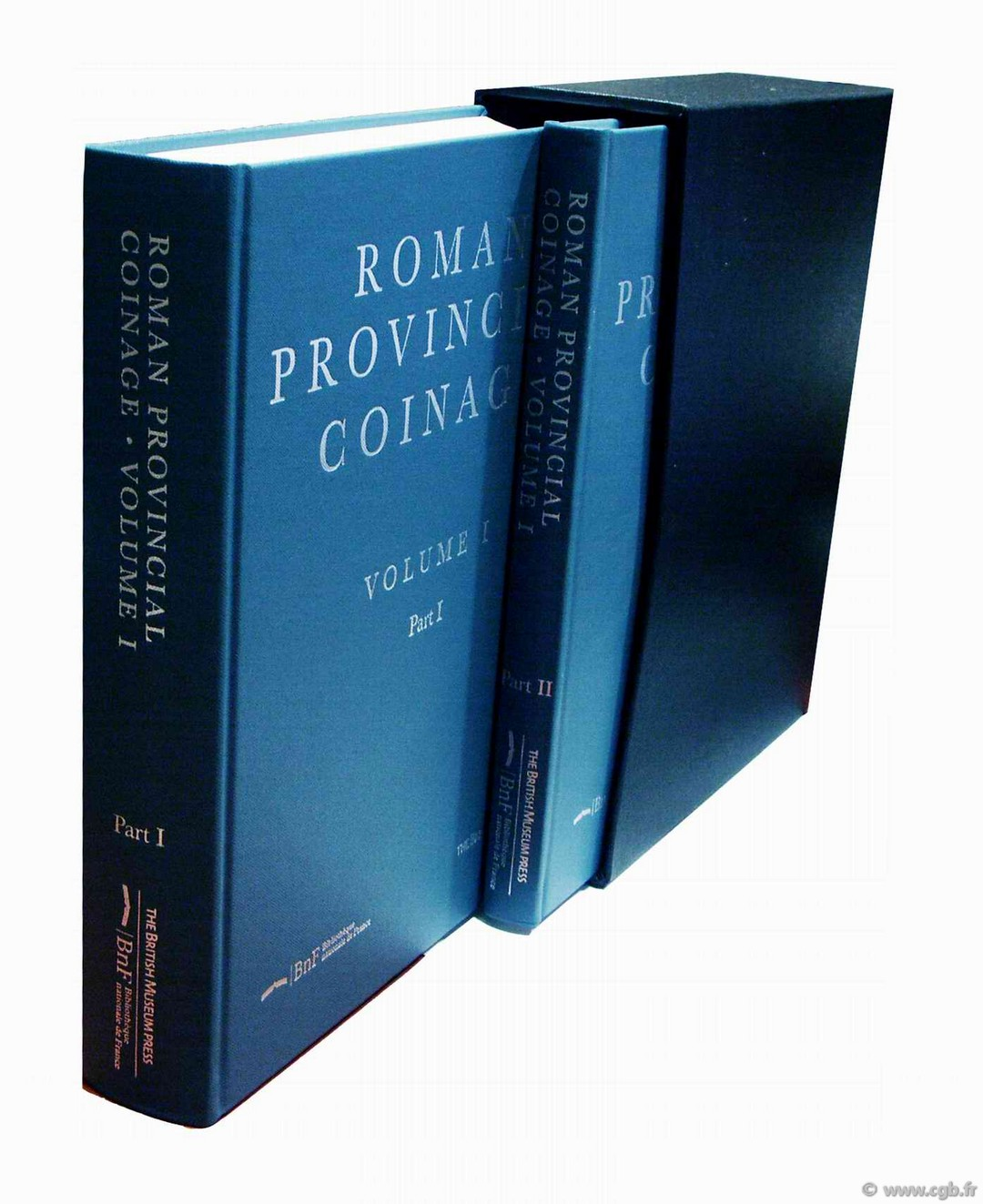 Roman Provincial Coinage, volume I, from the death of Caesar to the death of Vitellius BURNETT Andrew