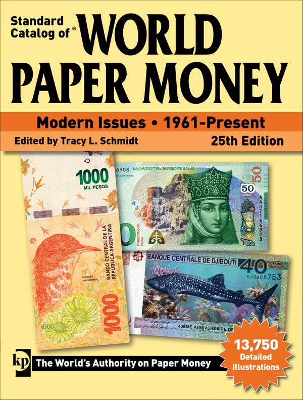 Standard Catalog of World Paper Money - Modern Issues : 1961-Present 25th Edition sous la direction de Tracy L. SCHMIDT