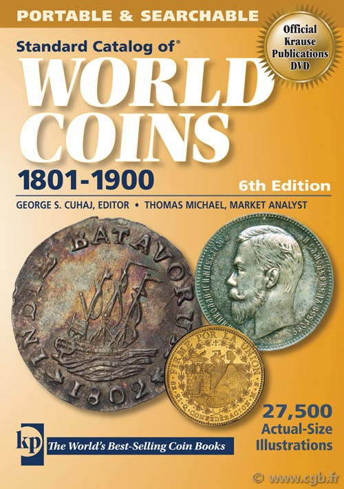 Standard catalog of world coins, 1801-1900, 6th edition KRAUSE Chester L., MISHLER Clifford