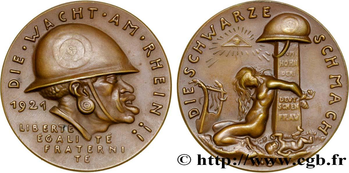 ALLEMAGNE Médaille de la Honte Noire du Rhin fme_371004 Médailles