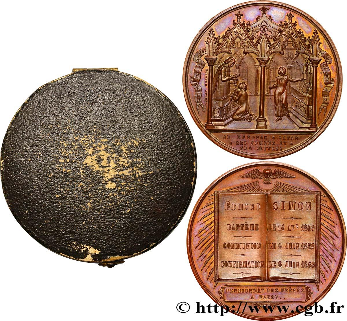 iii republic m daille de bapt me communion et confirmation fme 442051 medals. Black Bedroom Furniture Sets. Home Design Ideas