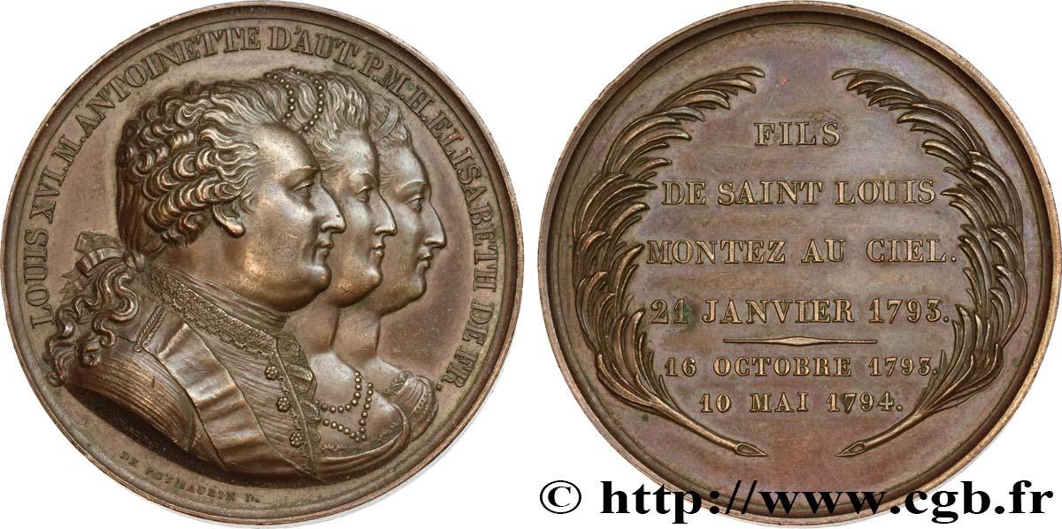 LOUIS XVI Médaille d'hommage à la famille royale fme_460286 Médailles