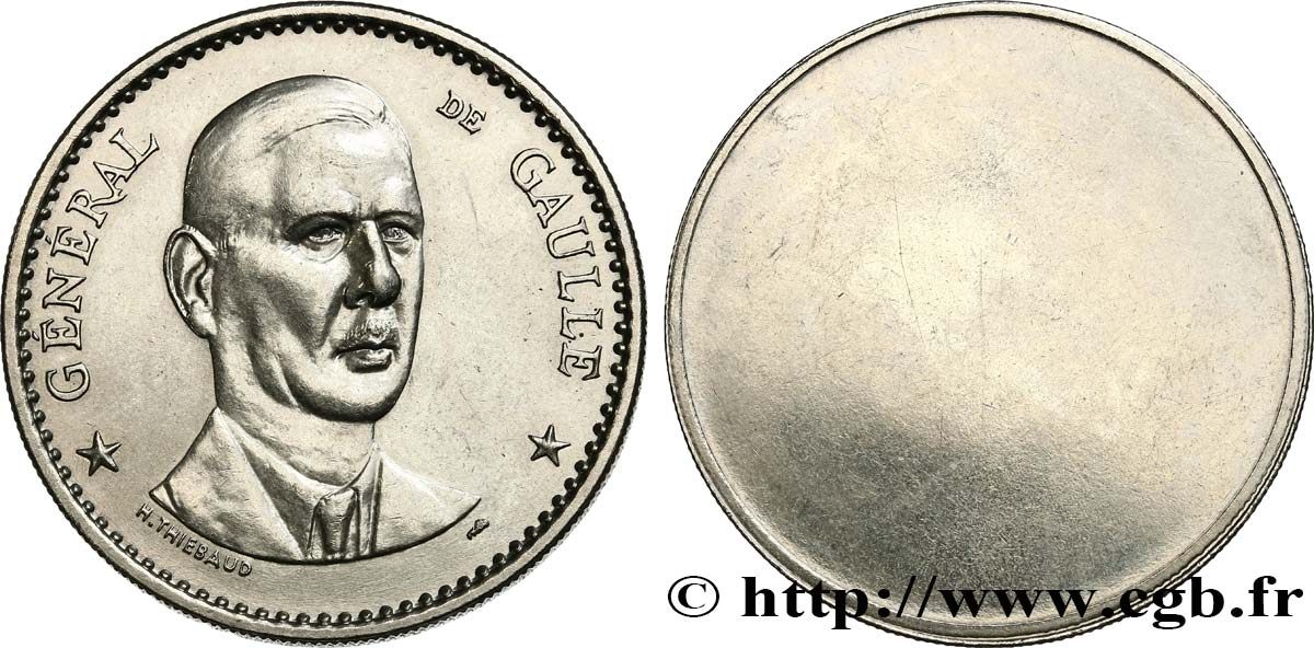 Général De Gaulle Presidente Della La Repubblica Tiebaud H