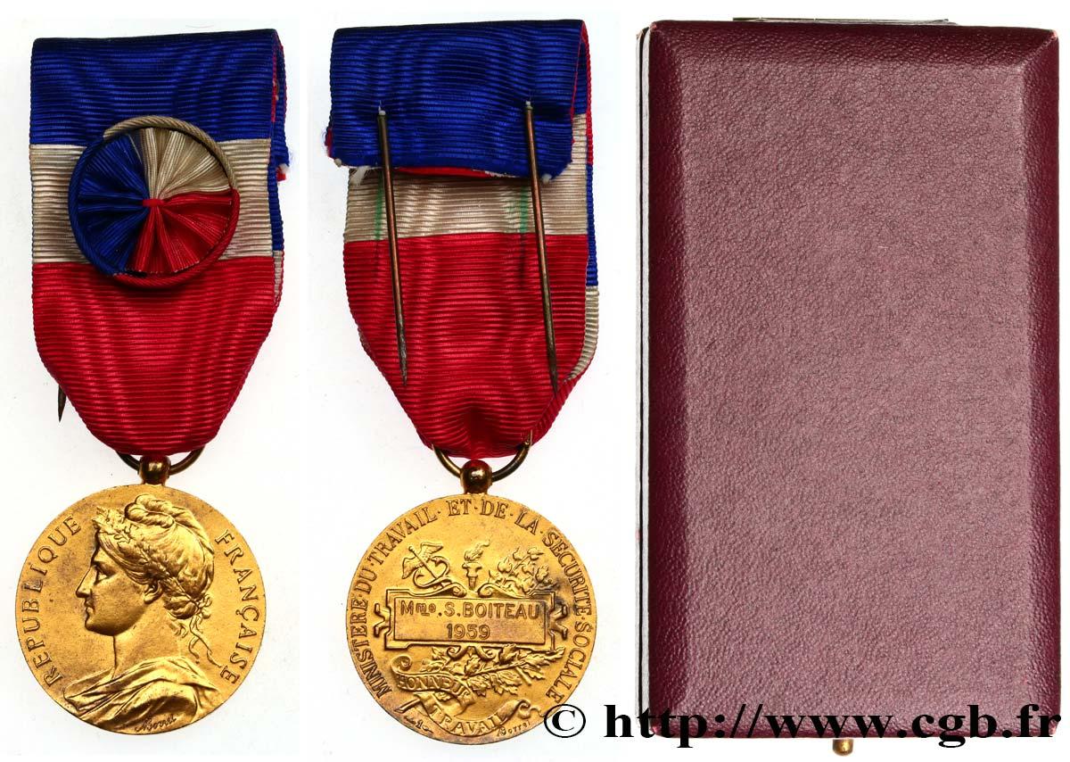 Cinquieme Republique Medaille D Honneur Du Travail 30 Ans