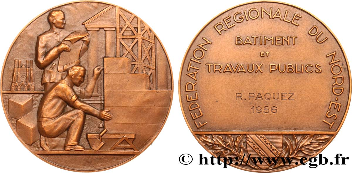 COMPANIES, INDUSTRIES AND MISCELLANEOUS TRADES Médaille, Construction AU