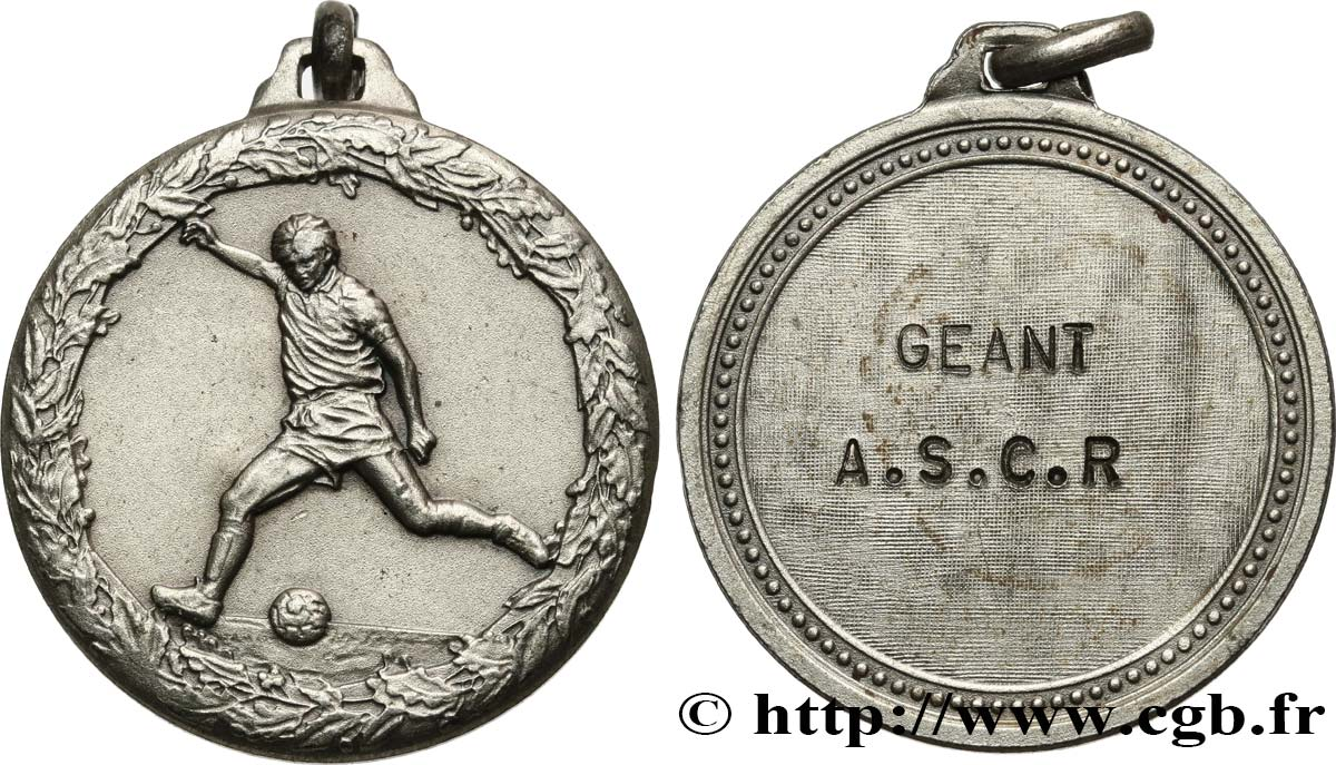 SPORTS Médaille de récompense, Football AU