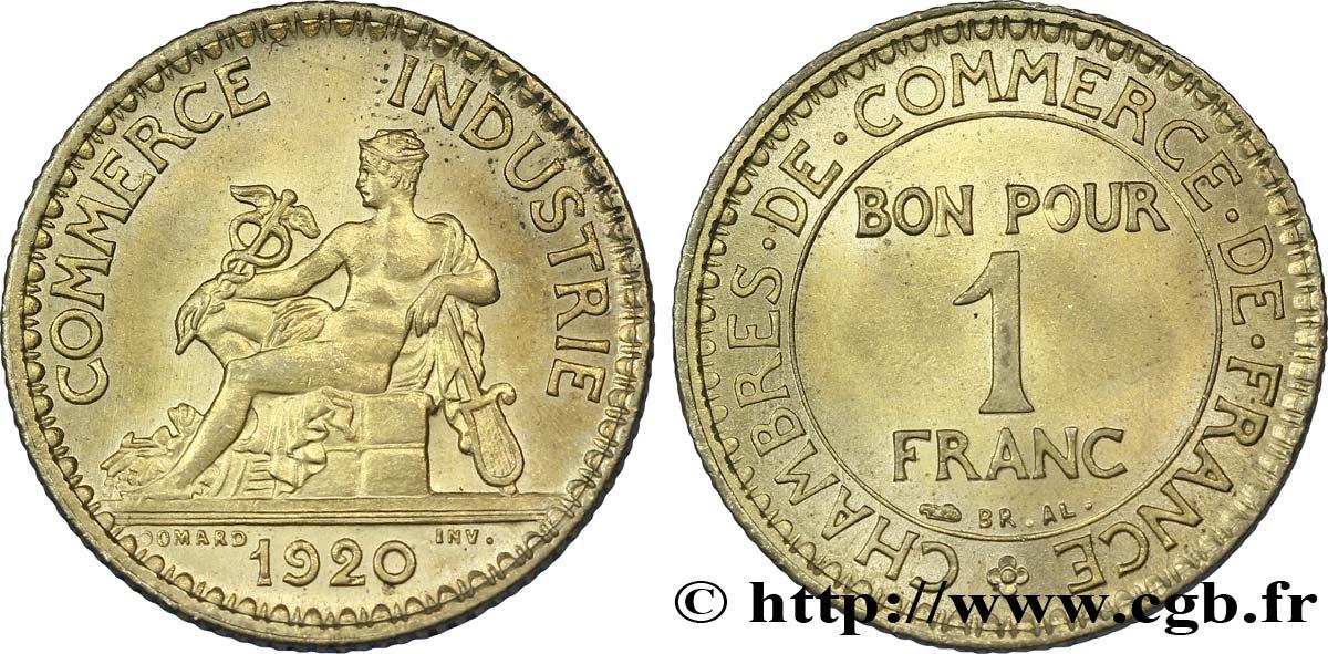 1 franc chambres de commerce 1920 paris sup60 fmd - Certificat d origine chambre de commerce ...