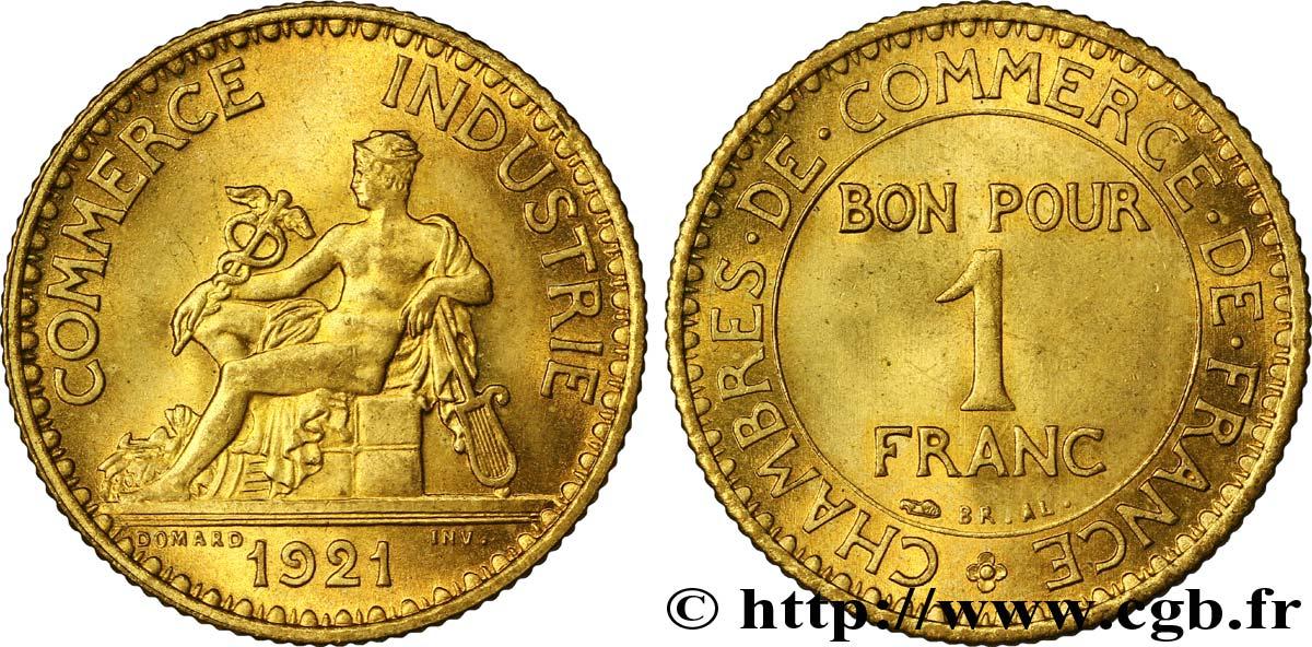 1 franc chambres de commerce 1921 paris fmd 108505 for Chambre commerce industrie paris