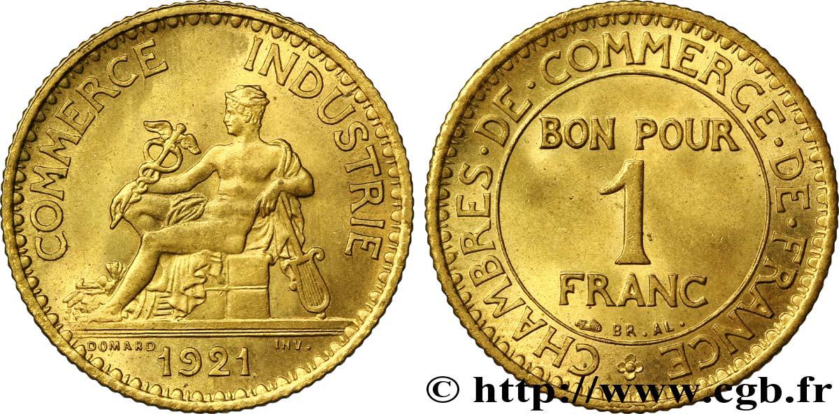 1 franc chambres de commerce 1921 paris fmd 108508 for Chambre commerce international paris