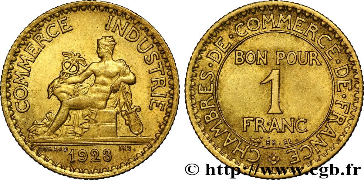 1 franc chambres de commerce 1923 paris fmd 108536 for Chambre commerce international paris