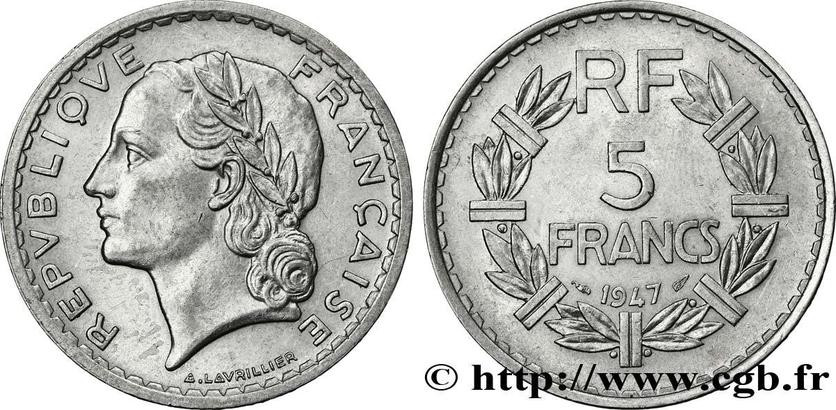 piece de monnaie 5 francs 1947