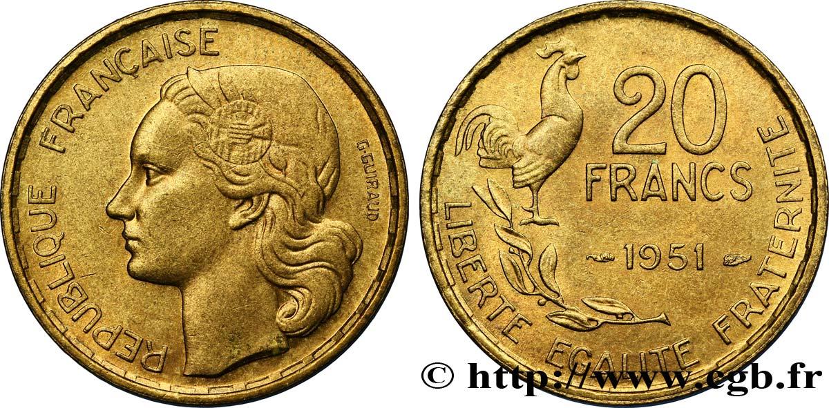 20 Francs Piece Et Billet De France