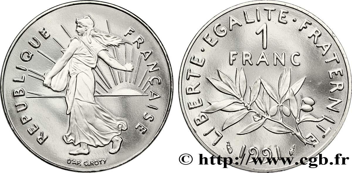 etat FRANCE 1 franc  1991  SEMEUSE
