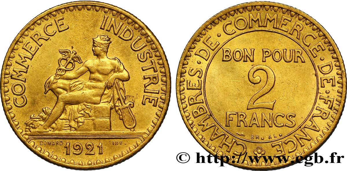 2 francs chambres de commerce 1921 fmd 127224 for Chambre de commerce bobigny horaire
