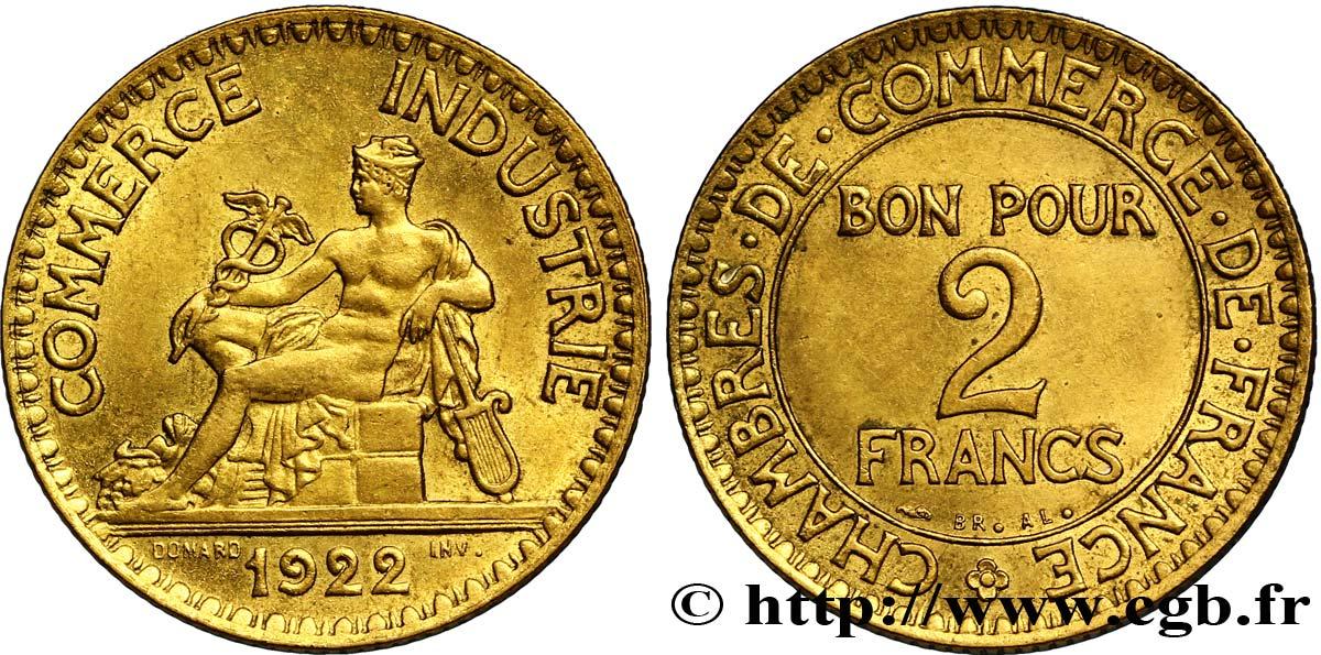 2 francs chambres de commerce 1922 fmd 127244