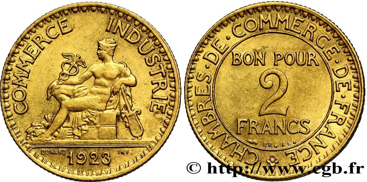 2 francs chambres de commerce 1923 fmd 127264 for Chambre de commerce des bois francs