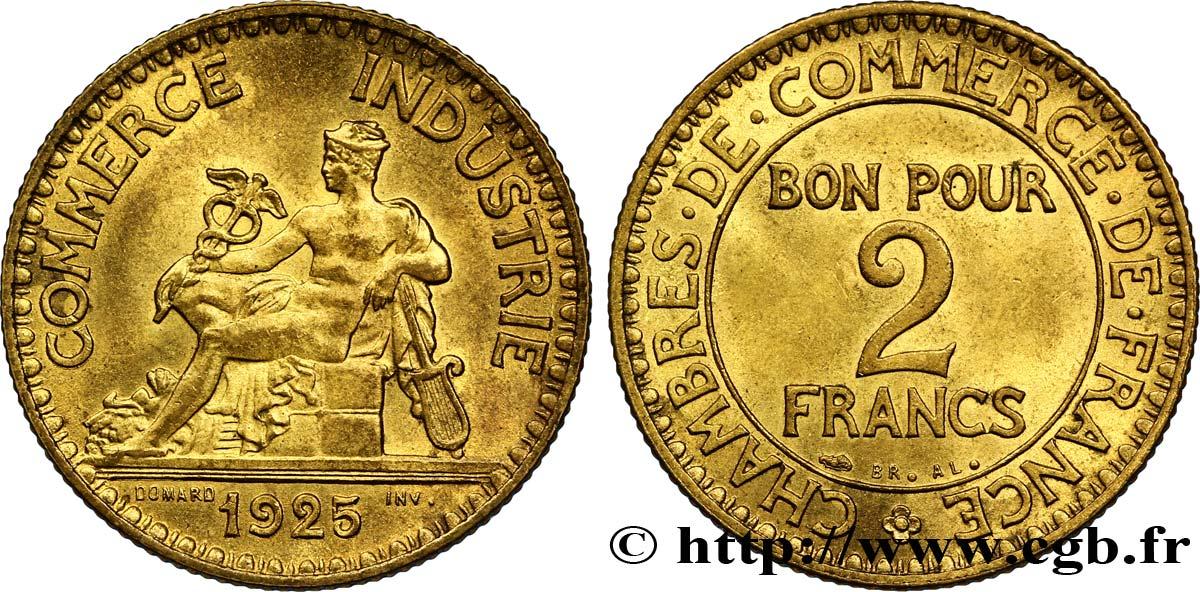 2 francs chambres de commerce 1925 fmd 127380 for Chambre de commerce des bois francs