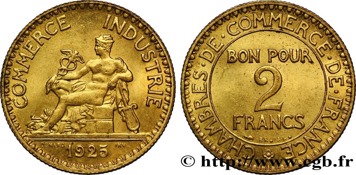 2 francs chambres de commerce 1925 fmd 127397 for Chambre de commerce bobigny horaire
