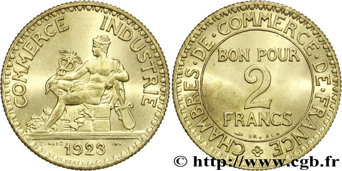 2 francs chambres de commerce 1923 spl64 fmd for Chambre de commerce de france bon pour 2 francs 1923
