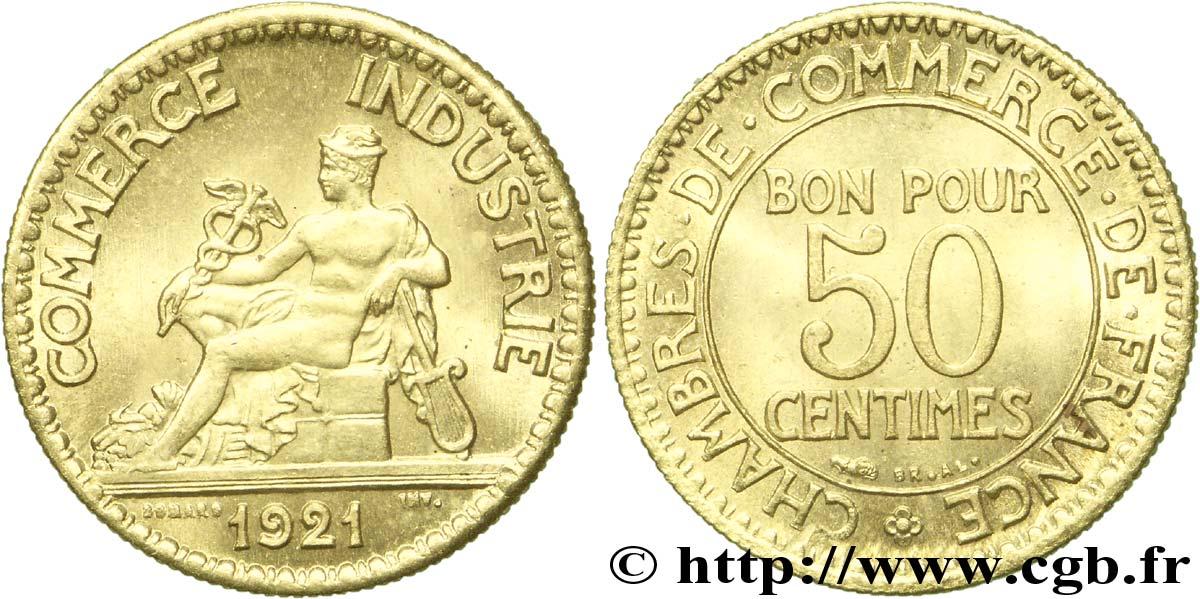 50 centimes chambres de commerce 1921 paris fmd for Chambre commerce industrie paris