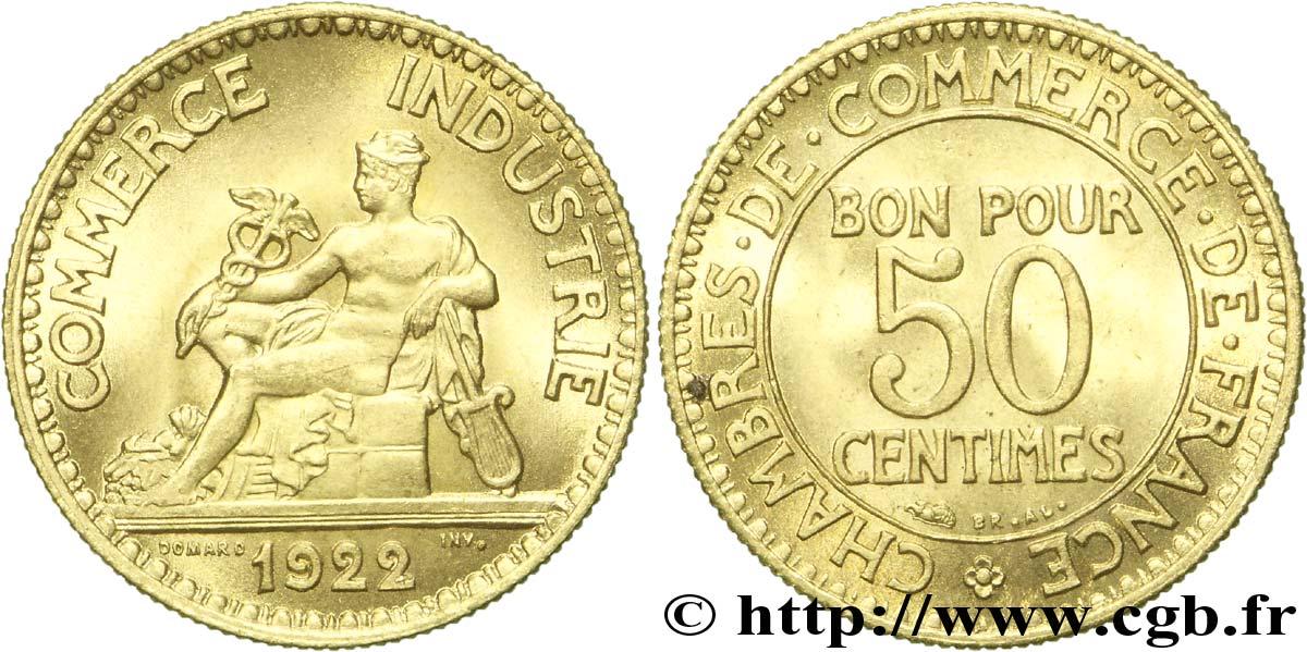 piece de monnaie bon pour 50 centimes 1923