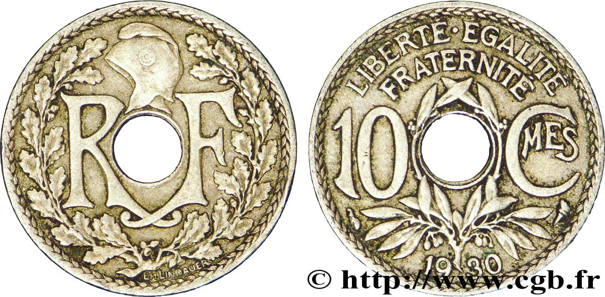 10 centimes Lindauer 1930  F.138/17 XF45