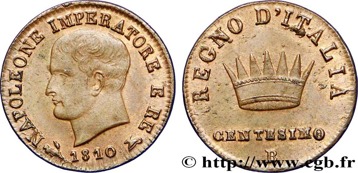 Centesimo Napoléon Empereur Et Roi Ditalie 1er Type 1810 Bologne M