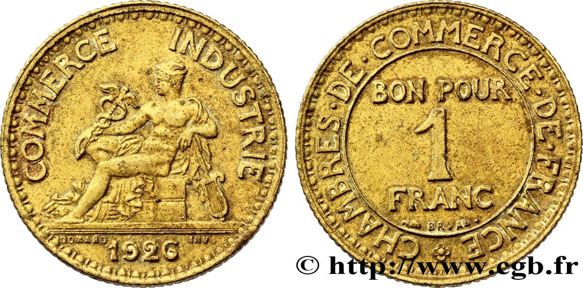 1 franc chambres de commerce 1926 paris xf48 fmd for Chambre commerce international paris