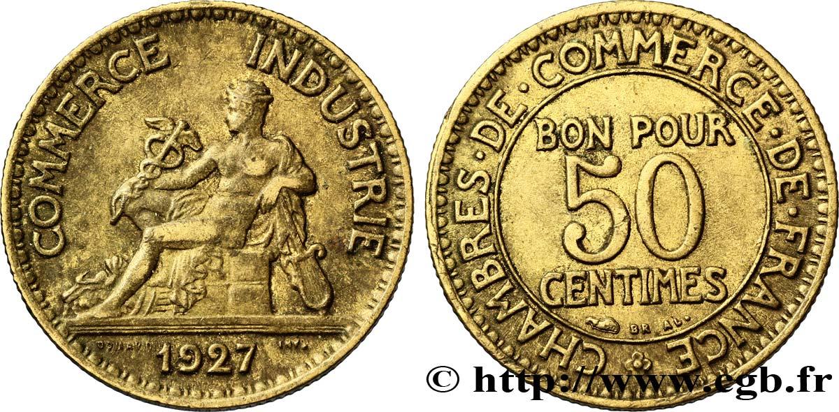 50 centimes chambres de commerce 1927 paris fmd for Chambre de commerce de paris