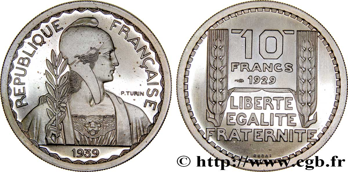 Préparation de la 20 francs Pétain, grand module, listel large, 31 mm, 12 g - Essai en cupro-nickel n.d. Paris GEM.174 1 FDC66