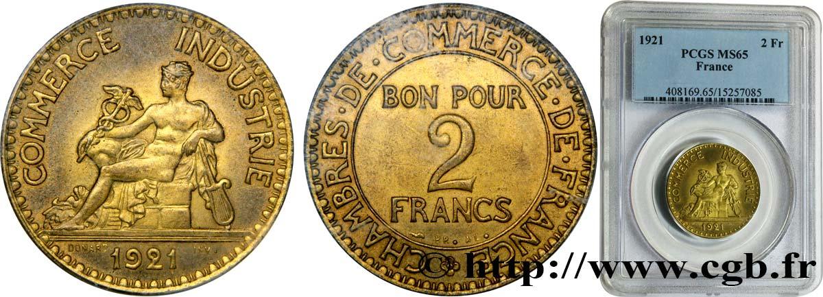 2 francs chambres de commerce 1921 fmd 332479 for Chambre de commerce des bois francs