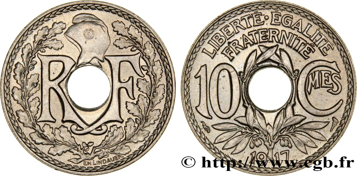 10 centimes Lindauer 1917  F.138/1 SUP62