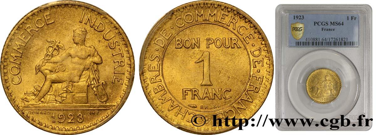 1 franc chambres de commerce 1923 paris fmd 339840 for Chambre commerce international paris