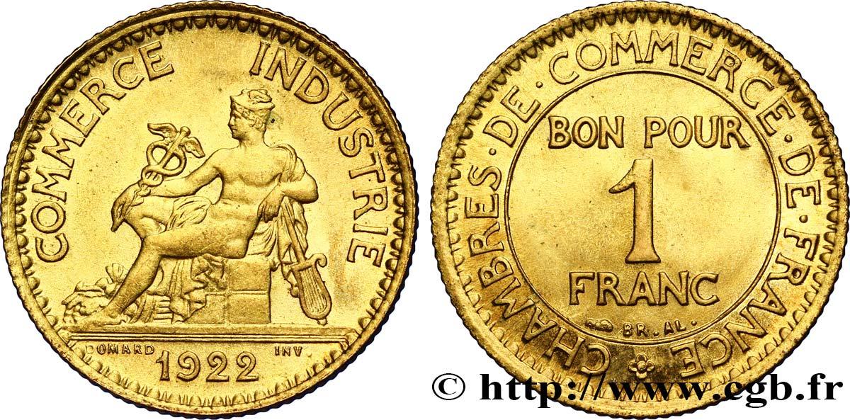 1 franc chambres de commerce 1922 paris fmd 341674 for Chambre commerce international paris