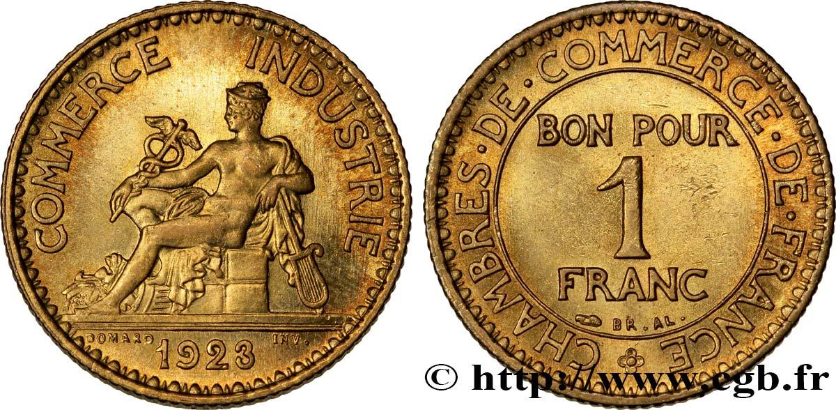 1 franc chambres de commerce 1923 paris fmd 351579 for Chambre commerce international paris