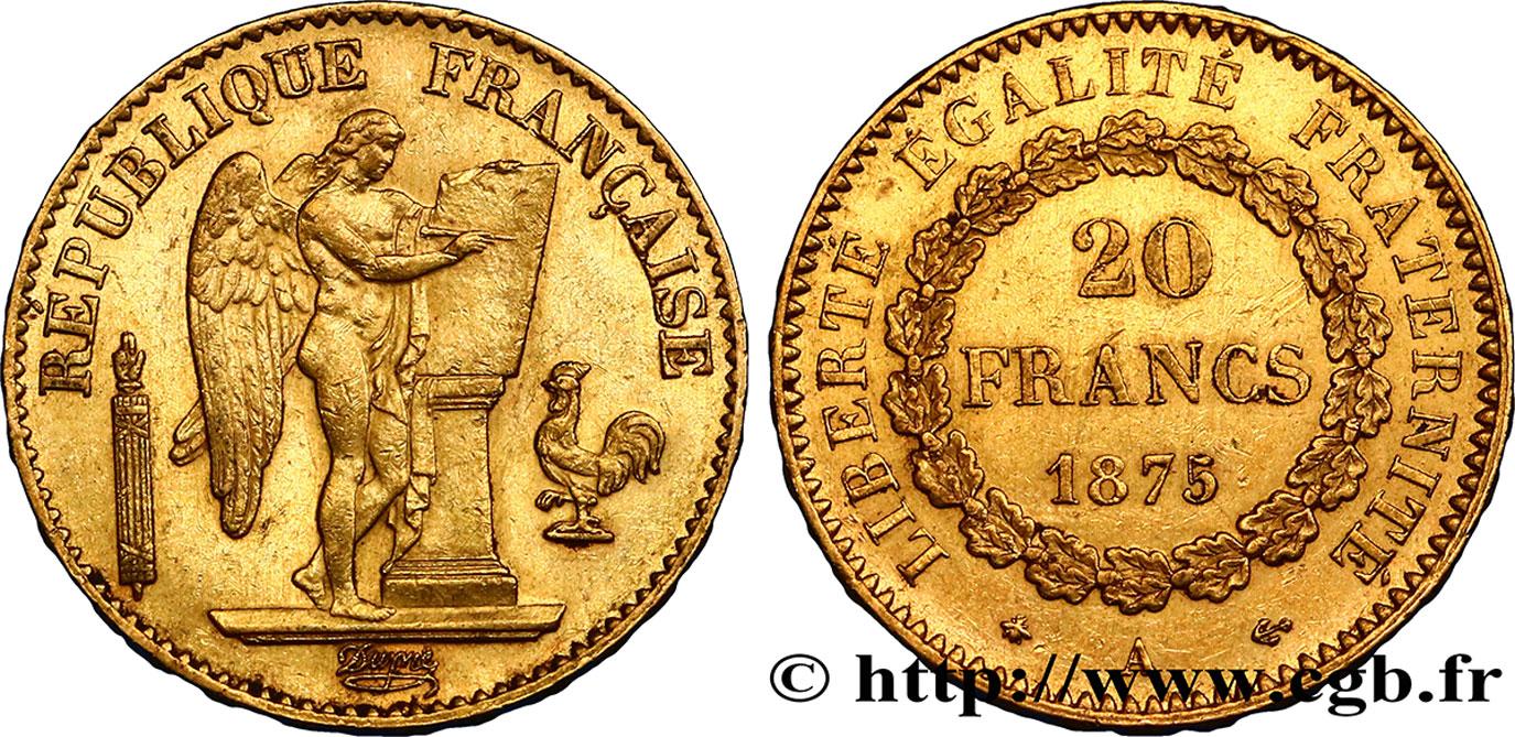 francs or genie iiie republique paris f fmd a