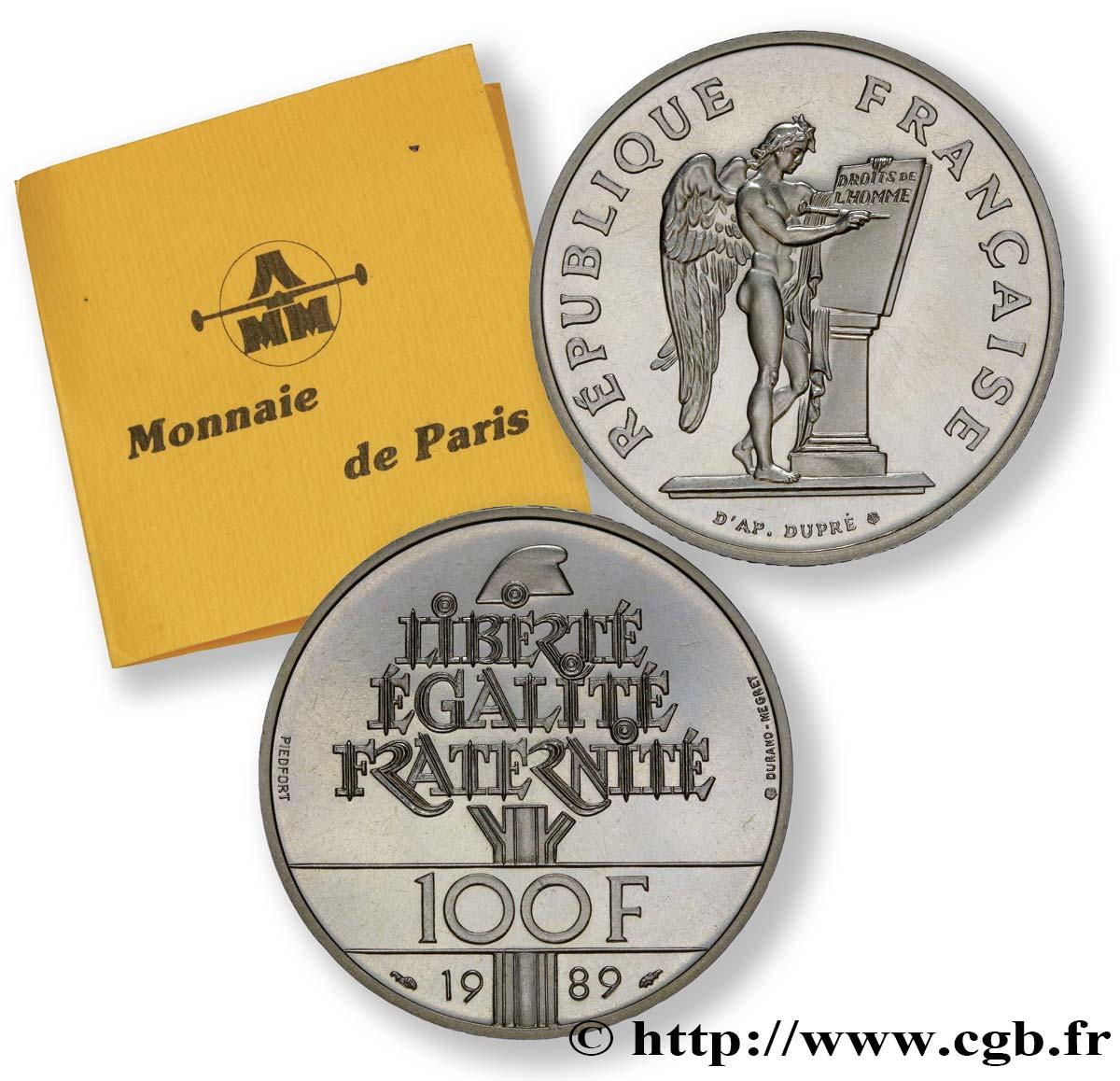 monnaie de paris 1989